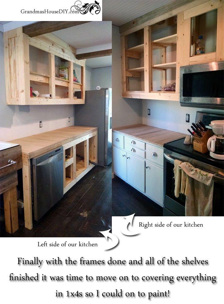 Captivating How To Build Kitchen Cabinets @GrandmasHousDIY