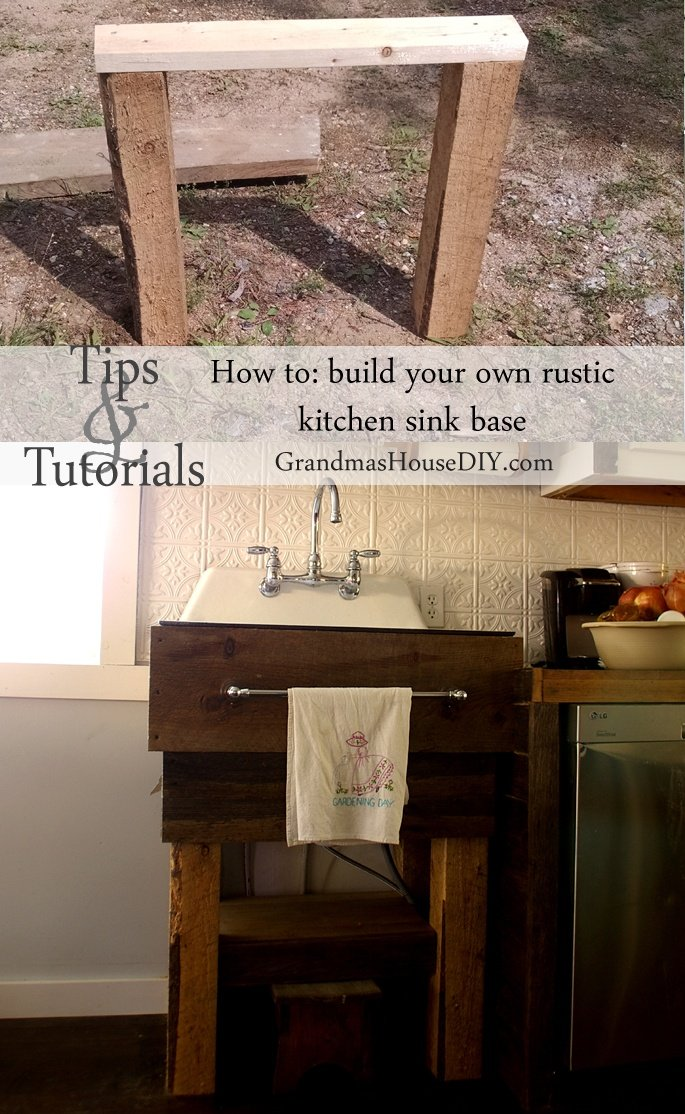 Country Sink Base : And here?s just the old cast iron sink so we can all embrace the ...