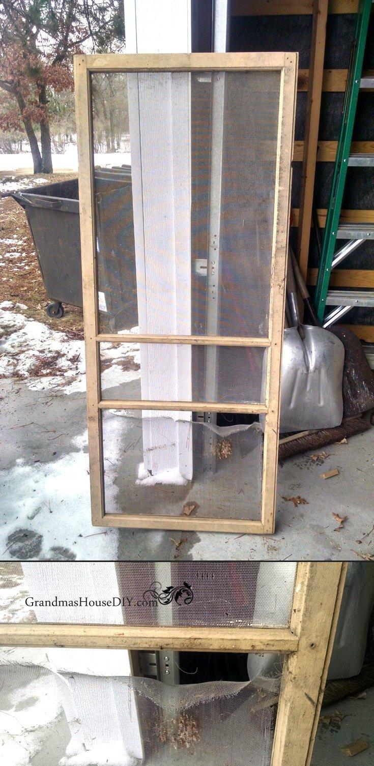 how to build a screen door from scratch