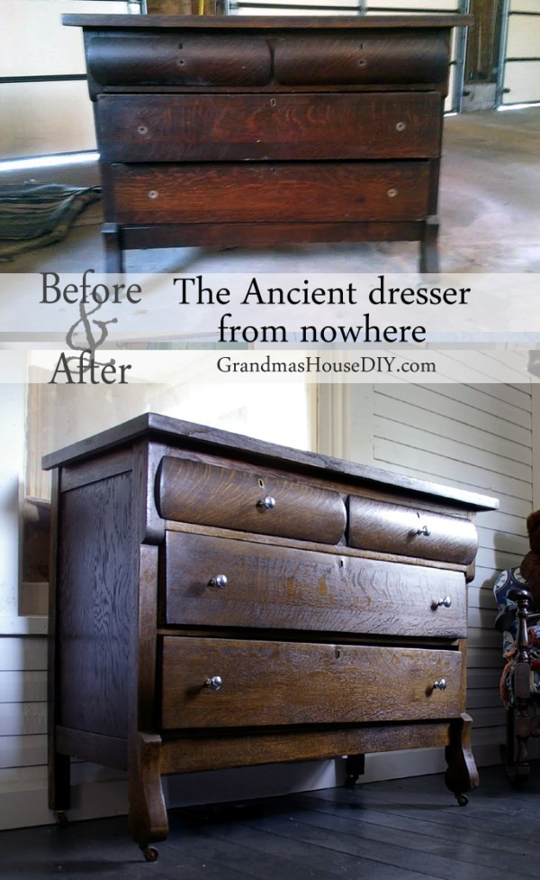 The top ten most popular posts in 2015 at Grandmas House DIY the Ancient dresser from nowhere diy refinishing