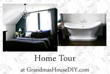 Home tour of a renovated 100 year old farm house before and afters