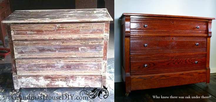 Its ok to modify old furniture to make it work for you, your ancestor's will forgive you!