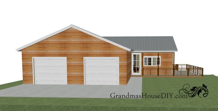 Free House Plan Two Story With A Walk Out Basement