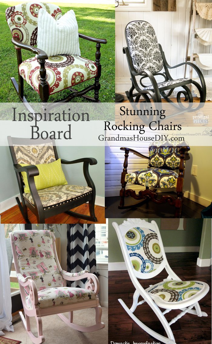 Bentwood rocking chair makeover - Inspiration Board At Grandma S House Diy Of Stunning Rocking Chair Makeovers And Before And Afters