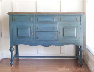 Inspiration board of gorgeous buffet and sideboard makeovers, before and afters, painted furniture, refinished furniture, antique furniture, diy