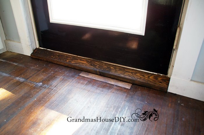 ... DIY wood working creating hardwood door thresholds by hand with rasps & Old tools building door thresholds for our home - Grandmas House DIY Pezcame.Com