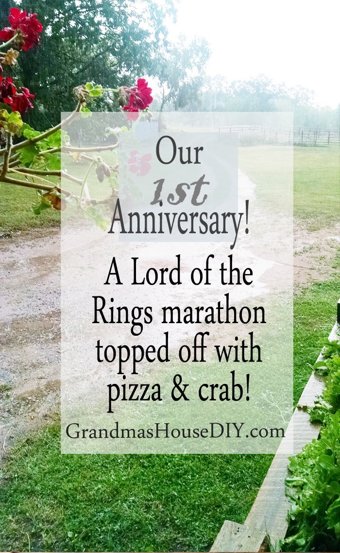 First year wedding and blog anniversary northern minnesota Grandma's House DIY