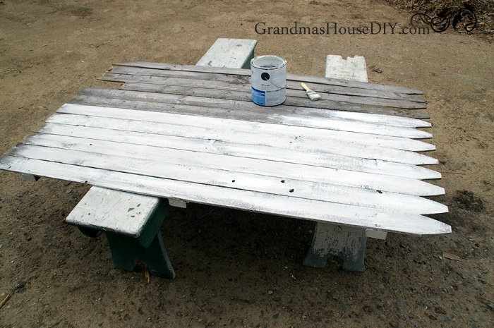 How to wood working build a room divider out of a privacy fence panel white wash diy do it yourself to cover an eye sore outside the house electrical panel equipment