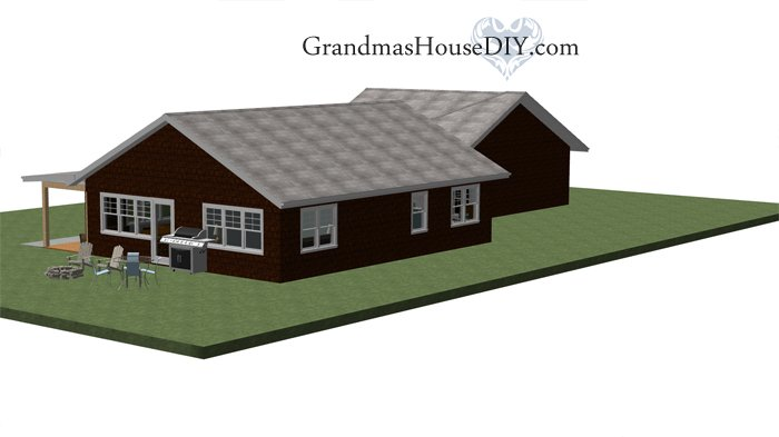 Sweet country home free house plan, free floor plan on one story with a big open kitchen a major storage with a beautiful bathroom that's big on style