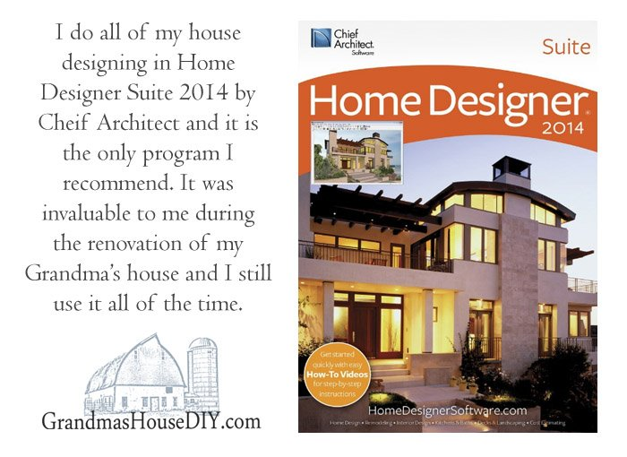 Home Designer suite by better homes and gardens and chief architect was invaluable to me during my grandma's home renovation.