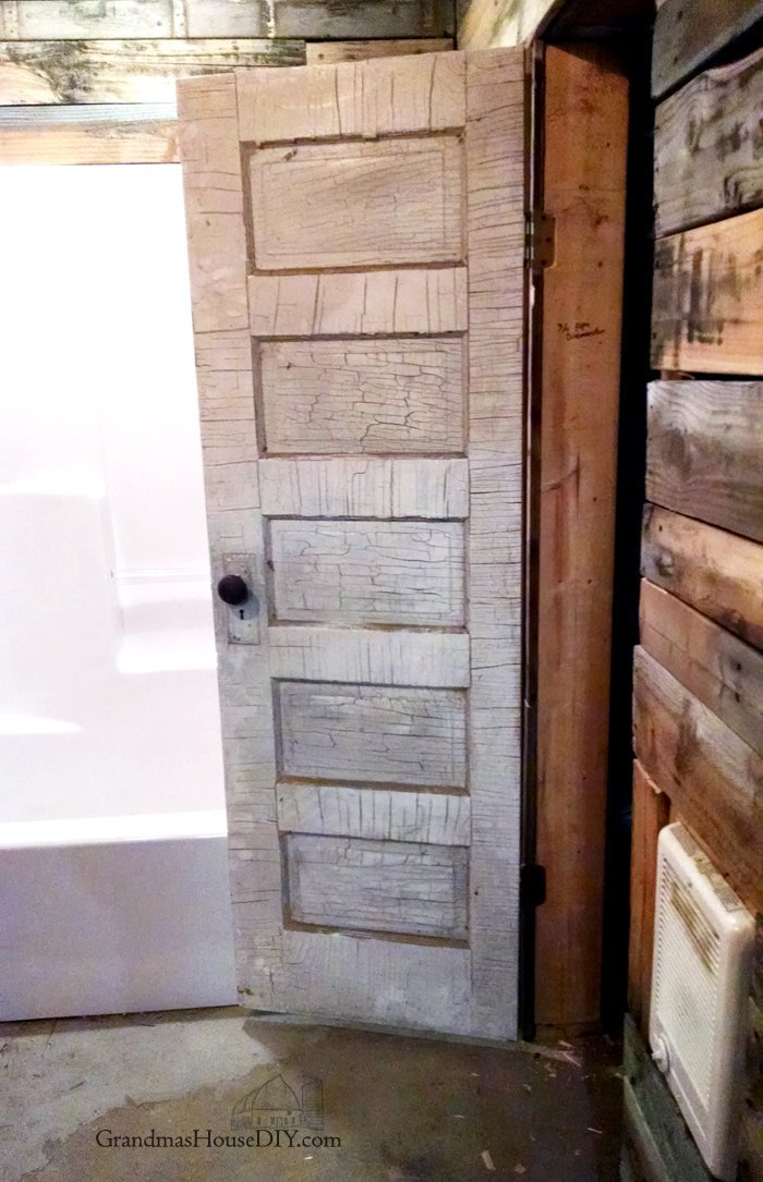 Cool antique old door