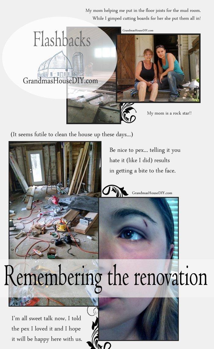 100 year old farm house renovation flashbacks diy for Renovating a 100 year old farmhouse