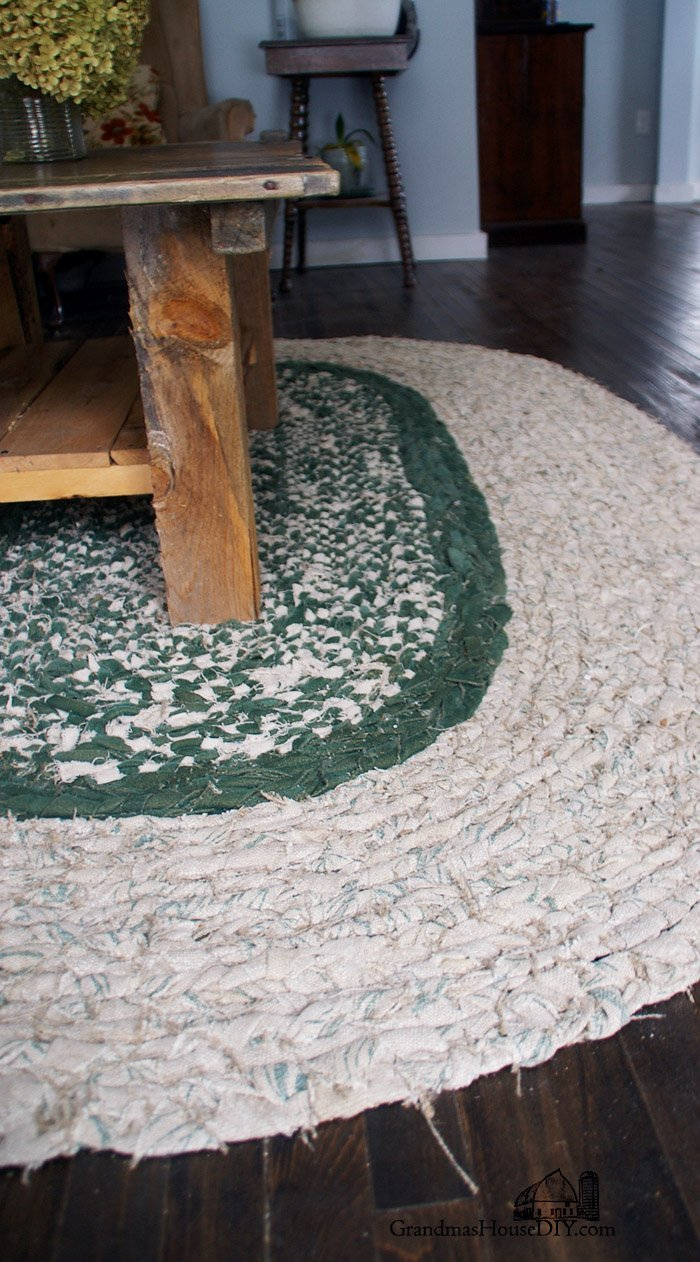 How To Braid Your Own Large Rag Area Rug