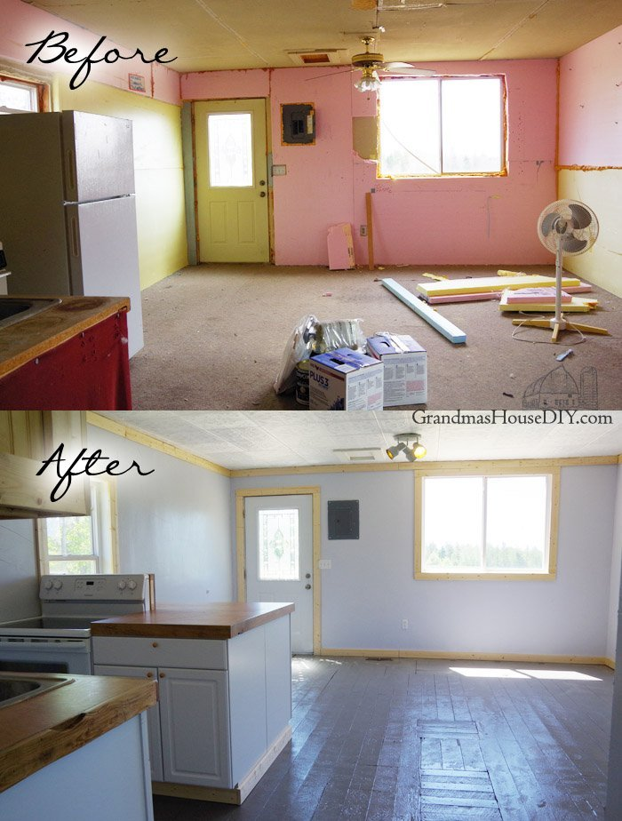 The Little House: Is Finally Complete! Before And After Of