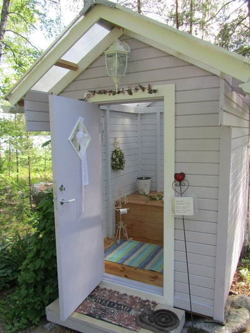 Dreaming Of A Sweet Little Outhouse Because I Am Very