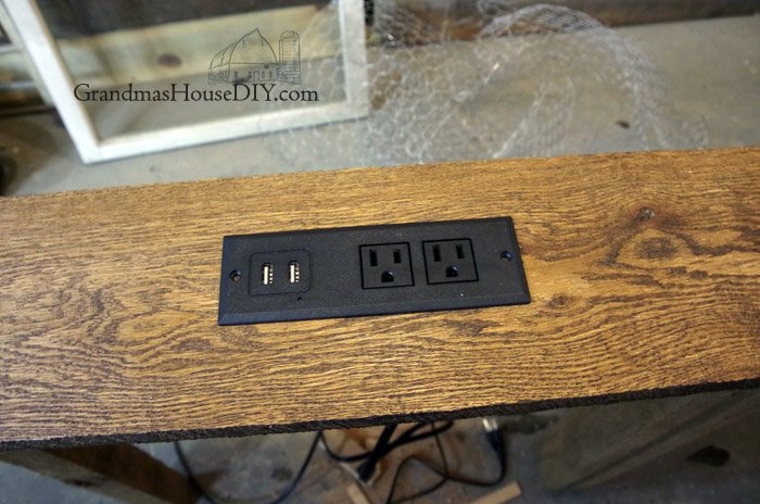 Wood working diy how to build a console table charging station for your living room and display for books and flowers, behind couch, sofa tables