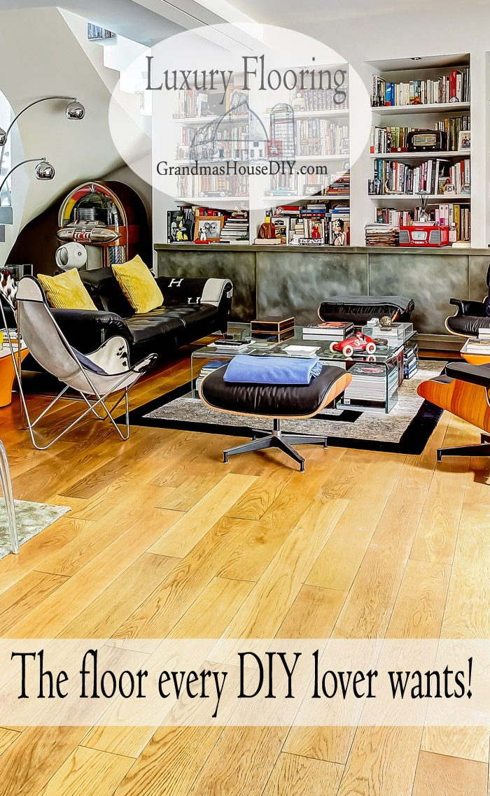 Laminate floor that is durable, beautiful and will last at least 20 years, a floor every DIY will love to have because they can install it themselves and it comes in every option and look from tile to hardwoods!