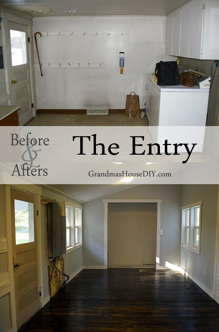 before and afters gallery at Grandma's House DIY