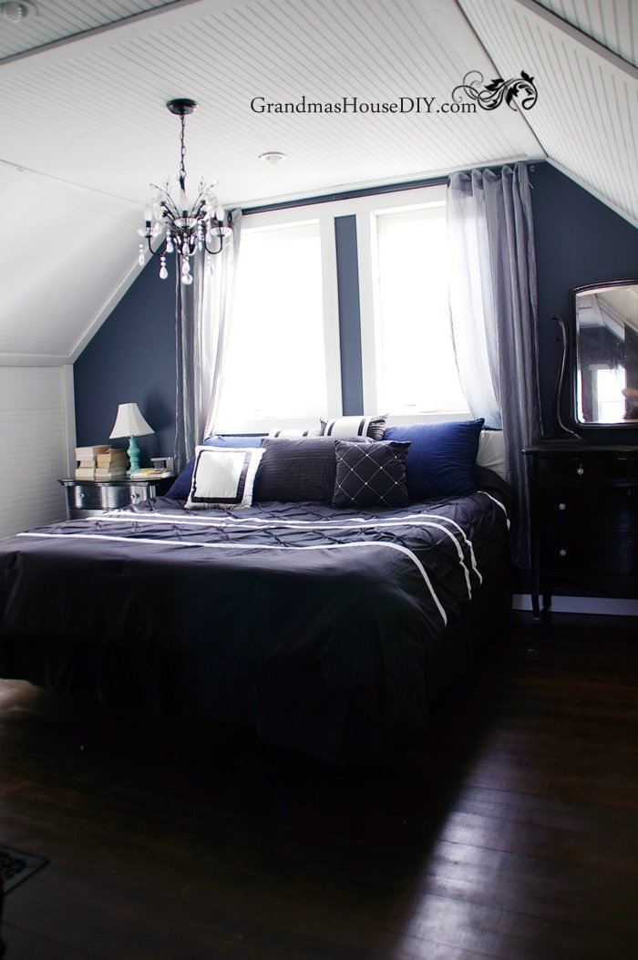After fifteen months of renovation come and see our hollywood glam master bedroom reveal, before and afters!