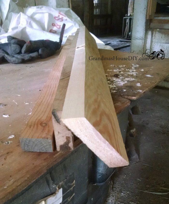 Hand tools, DIY, wood working, creating hardwood door thresholds by hand with rasps and clamps.