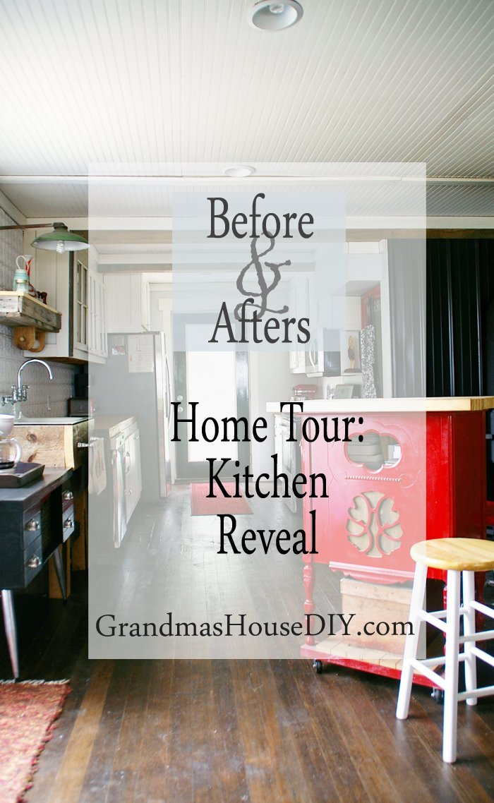 My entirely custom made by us homemade kitchen renovation remodeling renovate 100 year old farm house grandma's country home white kitchen diy do it yourself