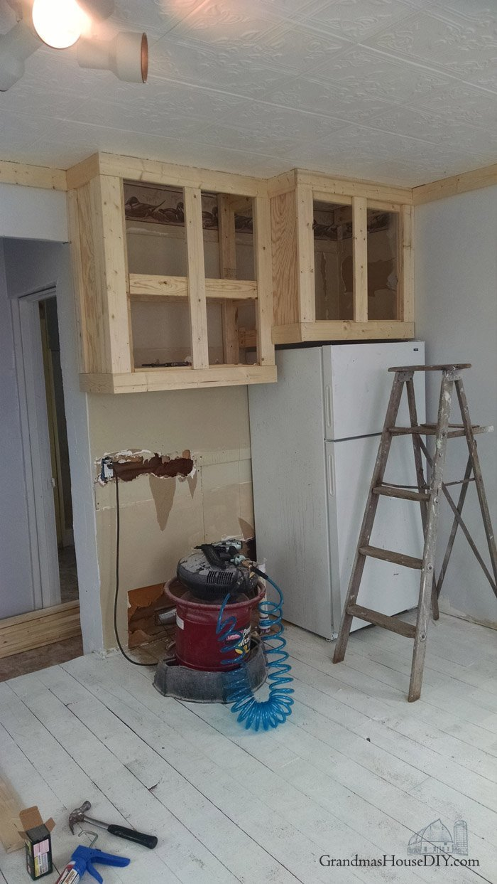 When a remodel plan meets reality during the little house renovation and remodeling, diy, do it yourself, how to organize and work through problems
