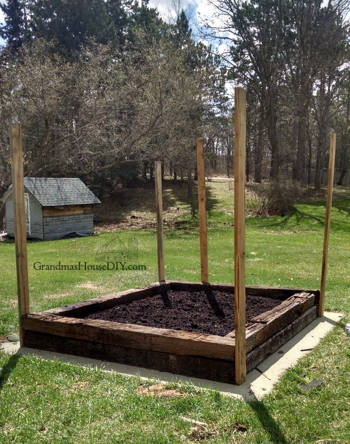 Build A Small Garden With Railroad Ties The Dangers Of Creosote