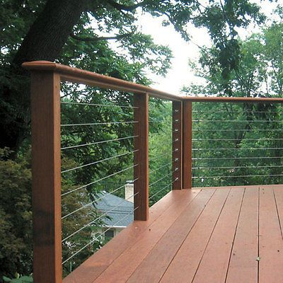 Diy Inexpensive Deck Rails Out Of Steel Conduit Easy To Do