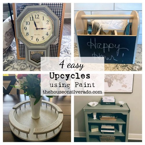 Niky from The House on Silverado - Four Easy Upcycles Using Paint