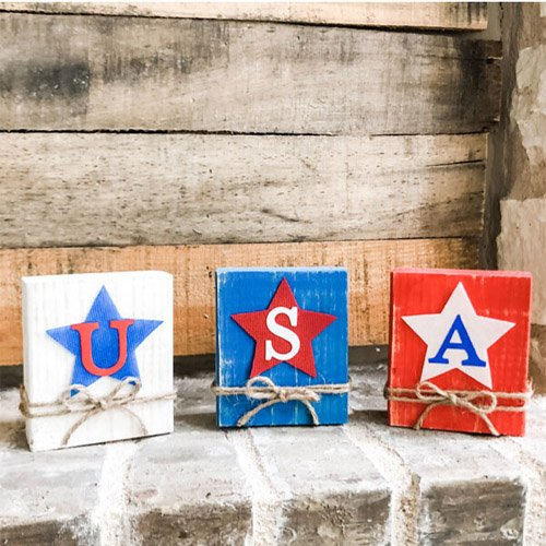 Red, White, and Blue Crafts Perfect for the Season!
