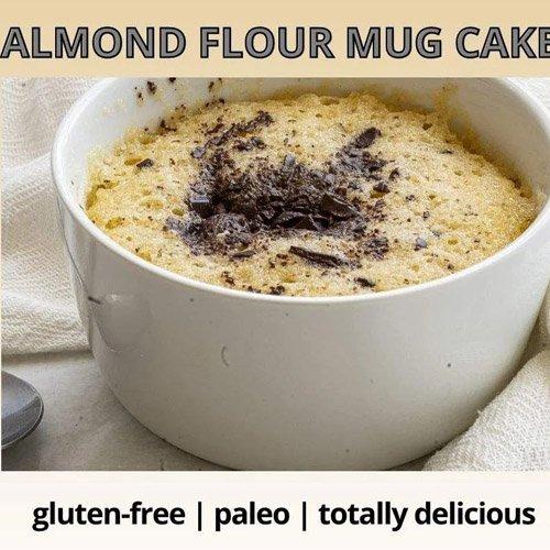 Almond Flour Mug Cake – Healthy, Gluten-Free, and Totally Delicious