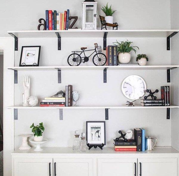 ANDREA FROM DESIGN MORSELS - DIY built-in shelves