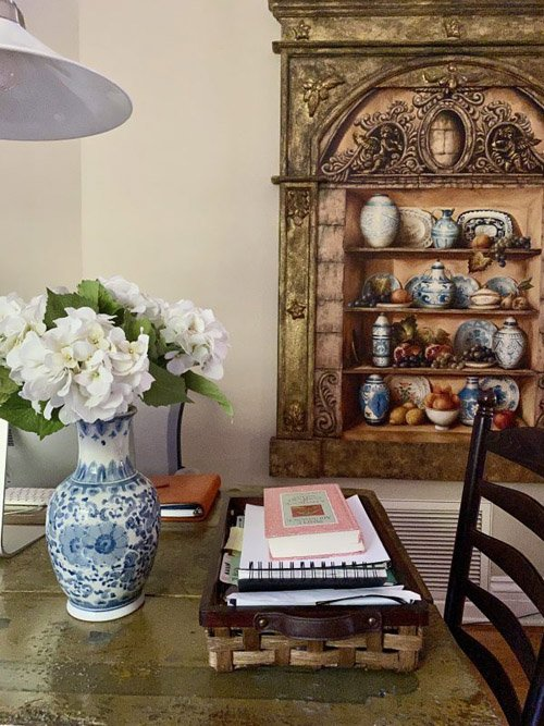 Mary from Life at Bella Terra - My Home Office Space