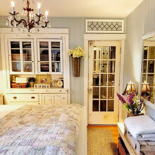 Kim from Shiplap and Shells - Making Our 100-Year-Old Cabinet Into the Perfect Bedroom Built-in