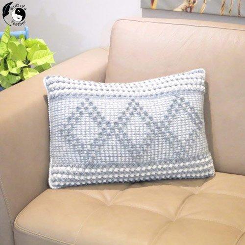 Crochet Pillow Cover – Crochet for a Cure