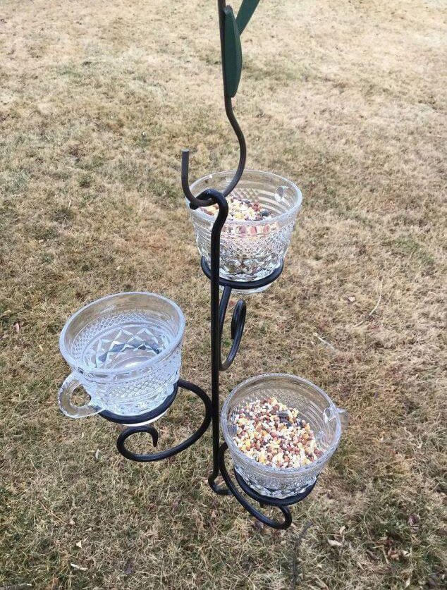 Chas Crazy Creations DIY Bird Feeders with Recycled Materials