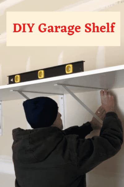 Chas from Chas' Crazy Creations – Easy Heavy Duty DIY Garage Shelf