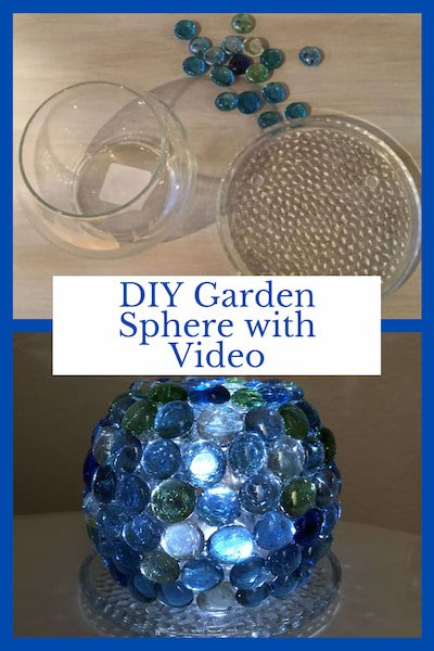 Chas from Chas' Crazy Creations – DIY Garden Sphere with Video