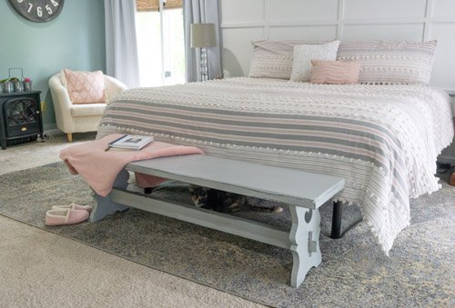 Amy from Health, Home, and Heart - Thrift Store Bench Makeover