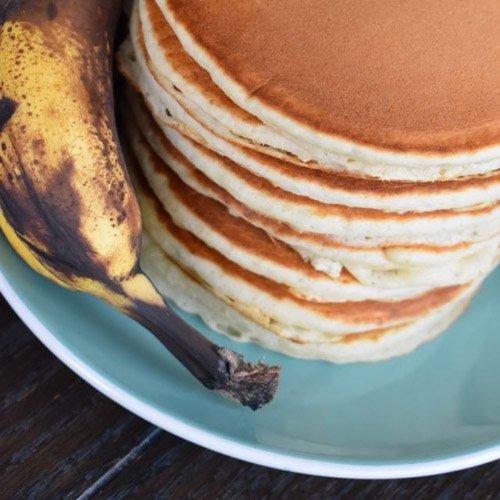 Krusteaz Banana Pancakes