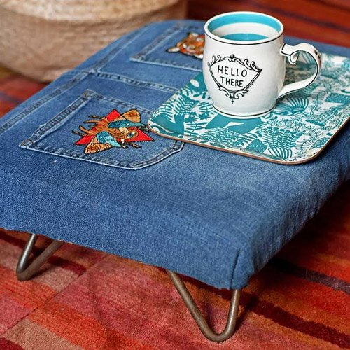 How To Make An Easy DIY Footstool