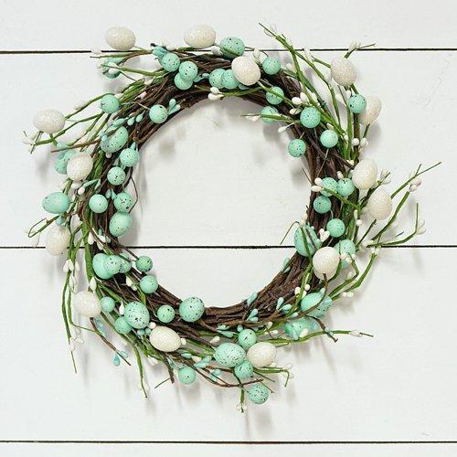 Super Easy Dollar Store Easter Wreath DIY