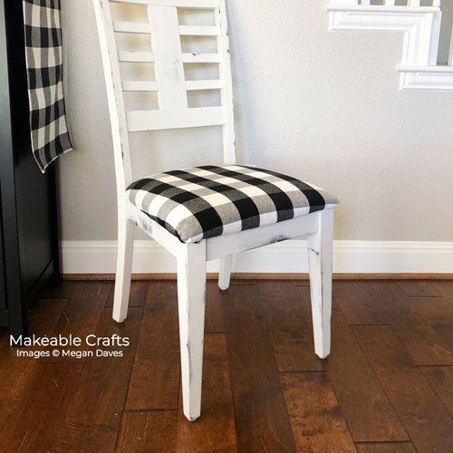 How to Reupholster a Kitchen Chair on a Budget
