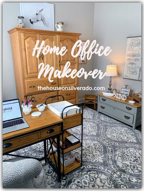 Niky from The House on Silverado - Home Office Makeover