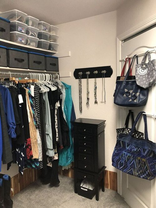 Chas from Chas' Crazy Creations – How To Organize A Closet With These Tips, Tricks, and Hacks