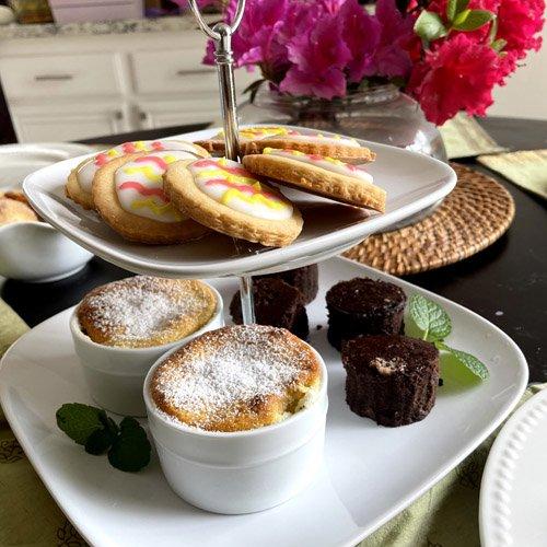 Lemon Pudding Cake Link Party #240