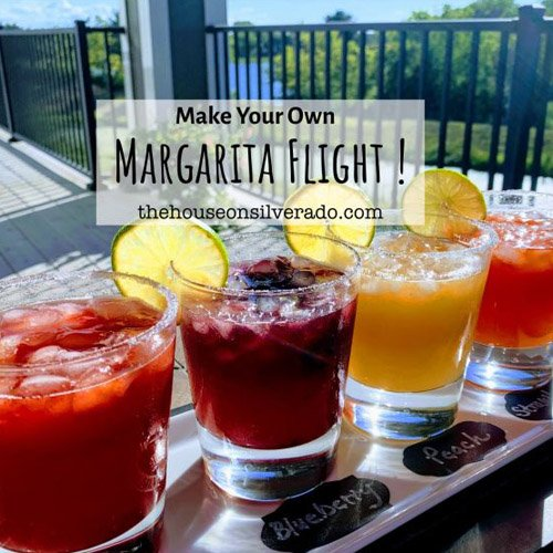 Make Your Own Margarita Flight! Link Party #243