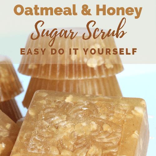 Oatmeal and Honey Sugar Scrub DIY