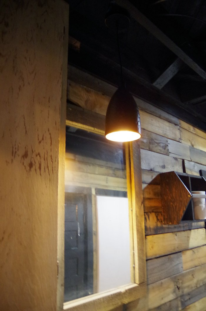 Continuing with our basement by upgrading the bathroom lighting! We're getting pretty close to finishing up this room