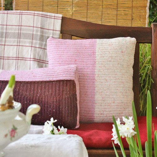 From Ugly to Snuggly: Repurposing A Sweater Into Pillow Covers